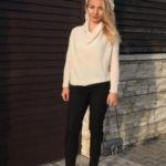 How to style: White sweater Allmaro